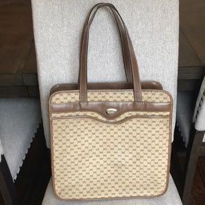 Sale$295: Authentic vintage Micro GG Gucci tote